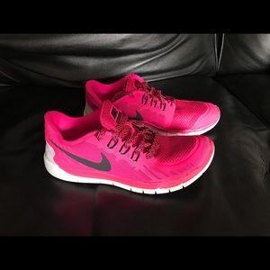 NIKE Free 5.0 Girls Training Running Shoes